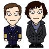 Martin and Sherlock