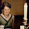 [Downton Abbey] Mary Green Dress Smile