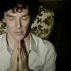 Sherlock Prayer Pose