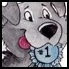 Number 1 Dog Ribbon