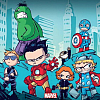 inkvoices: avengers:team movie babies