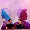 [teen wolf] derek and stiles | silhouett