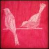 Шелковые птички