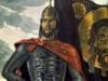 Св.Александр Невский с иконой и правдой