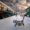 chiara: image: snow bench
