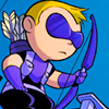 pyroblaze18: Marvel: Baby Hawkeye