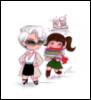 CCartoon Miranda & Andy