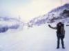 автостоп, зима