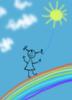 а я иду по радуге