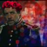 Javert, flower crown, les mis