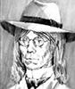 Кузьминский в шляпе