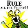 Avengers - Loki - rule all the people