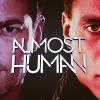 almost human: logo