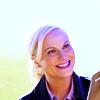 Alice Ayres: Parks&Rec: Leslie smiling