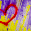 Kim: (Stock) Painted Heart