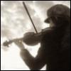 пасмурный скрипач