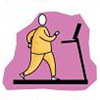 фитнес. беговая дорожка