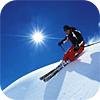 дуся на лыжах