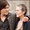 TWD 4x01 Carol and Daryl cuteness