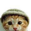 выглядываю в шапке