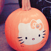 Hello Kitty pumpkin-shalowater