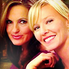{SVU} Olivia/Amanda - smile