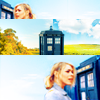 Leslie: Doctor Who - Rose and TARDIS