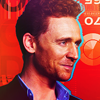 tom hiddleston ; red