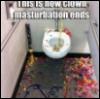 Clown masturbation