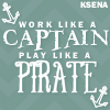 KSena: Me Play like a pirate by zombiequeen@reb