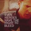 Cap, Heroes bleed