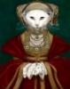 кошка в стиле Гольбейна