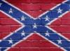 Флаг на стене