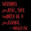 Nietzsche music