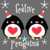Festive Penguins by sallymn