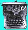 writing, typewriter, fic typewriter