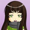 девочка в шарфике