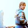 Arthur on horseback