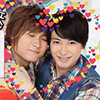 Kitayama might be taking a picture of this: hasshi tottsu love match