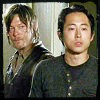 twd: daryl and glenn s4