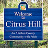 personal - Citrus Hill Sign