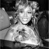 Beyonce b/w puppy smile