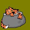 кот-горшок