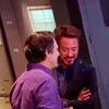 bruce and tony laughing