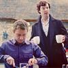 miwahni: Sherlock John eating