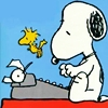 Snoopy Typewriter