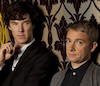 Captain Awesome von Baconpants: Sherlock - Sherlock & John at 221B
