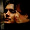 Sam/Dean cheek-to-cheek