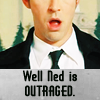Goosey: (Pushing Daisies) Outrage.