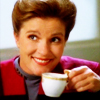 Janeway and coffee